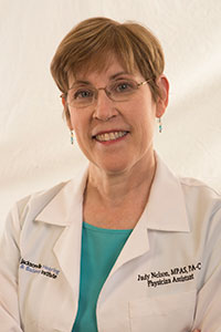 Judy Nelson, MPAS, PA-C