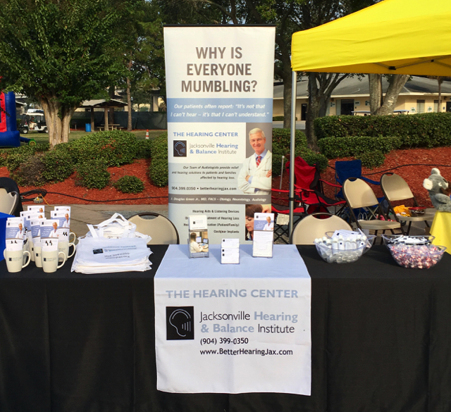 The Hearing Center in the community supporting the 2016 Walk4Hearing event.